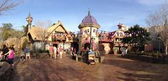 New Tangled Restrooms - Panorama