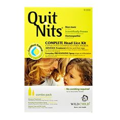 Quit Nits Natural Complete Head Lice Removal Kit Kills and Prevents Lice and Lice Eggs Treatment for Lice 1 Kit *** More info could be found at the image url.