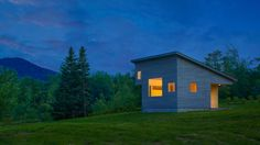 Energy efficient Micro House frames mountain views in Vermont - Curbedclockmenumore-arrow : The 430-square-foot tiny home frames views of the Green Mountains