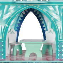 """Amazon.com: Teamson Design Corp Kid's """"Frozen"""" Ice Mansion Doll House: Toys & Games"""