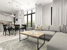 Salon styl Industrialny - zdjęcie od suspenzo architectural group - Salon - Styl Industrialny - suspenzo architectural group