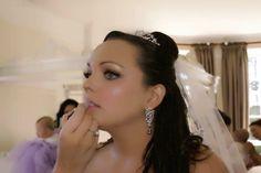 Pink & Shimmer Bridal Makeup by Love Bird Makeup covering Gloucestershire & Cotswolds - www.lovebirdmakeup.co.uk