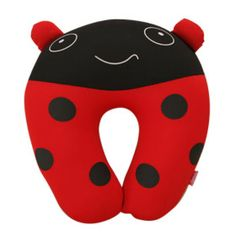 Cute ladybug neck pillow