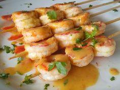 Γαρίδες σουβλάκι με σάλτσα μουστάρδας!!! ~ ΜΑΓΕΙΡΙΚΗ ΚΑΙ ΣΥΝΤΑΓΕΣ 2 Shrimp, Healthy Eating, Fish, Meat, Cooking, Recipes, Party, Kuchen, Essen