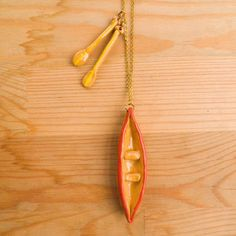 Canoe And Oars Necklace now featured on Fab.