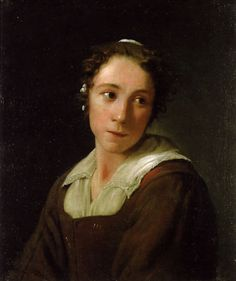Michael Sweerts (Be. 1618-1664) A Young Maid Servant (c. 1660) Oil on canvas…