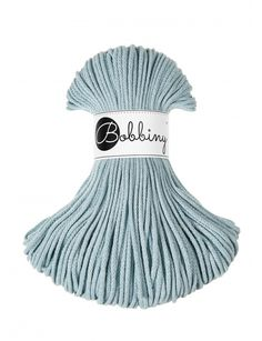 Mgiełka Snzurek Pleciony 3mm 100m Bobbiny Light Blue, Cord, 100m, Cotton, Cable, Twine, Pastel Blue, Wire, Electrical Cable