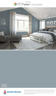 I found this color with ColorSnap® Visualizer for iPhone by Sherwin-Williams: Debonair (SW 9139).