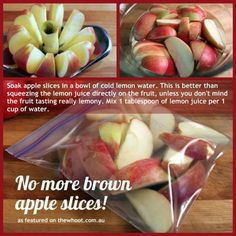No more brown apples