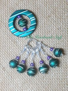 Crochet Stitch Markers Diy : Own Crochet Stitch Markers: Free DIY Stitch Marker Tutorial Stitch ...
