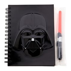 So awesome. I think I might have to get one. Darth Vader Journal and Pen Set