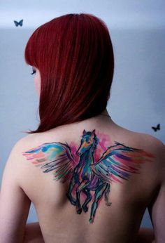 Pegasus tattoo I want to paint this