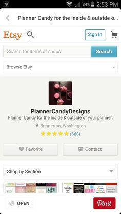 An amazing planner shop!!