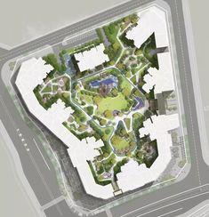 近期5个精品大区_重庆 Design Language, Landscape Architecture, City Photo, Layout, How To Plan, Sketches, Park, Public Spaces, Page Layout