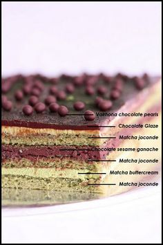 Green tea matcha OPERA cake-make this for Jenna's birthday!- Green tea matcha OPERA cake-make this for Jenna's birthday! Green tea matcha OPERA cake-make this for Jenna's birthday! Unique Desserts, Fancy Desserts, Köstliche Desserts, Delicious Desserts, Pastry Recipes, Cake Recipes, Dessert Recipes, Russian Honey Cake, Opera Cake