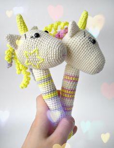 Amigurumi,amigurumi rattle,amigurumi unicorn,amigurumi free pattern unicorn rattle,handmade rattle,crochet rattle,amigurumi unicorn çıngırak yapılışı