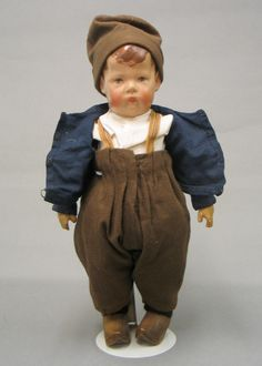 Oustanding Early Wide Hip Kathe Kruse Boy Doll Germany Circa 1915 | eBay