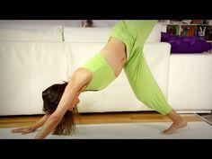 Yoga für Anfänger: Core Programm für Bauch und Taille - YouTube