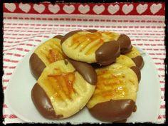 German Orange Chocolate Cookies (Christmas)