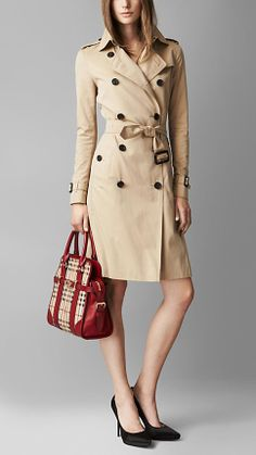 Medium Haymarket Check Portrait Tote Bag | Burberry