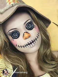 15 Halloween Costumes That Only Need Makeup | Gurl.com