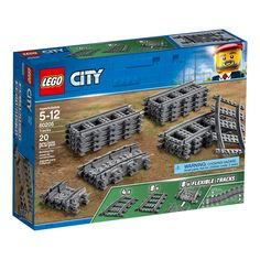Train Lego City, Lego Train Tracks, Lego Building Sets, Lego Sets, Lego Track, Construction Lego, Building Structure, Model Train Layouts, Lego City