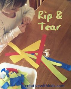 5 Activities for Toddlers to do at the Table