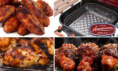Grills, Tandoori Chicken, Charcoal, Wings, Classic, Ethnic Recipes, Food, Meal, Essen