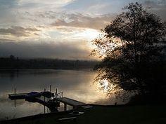 Big Lake, WA - autumn sunrise