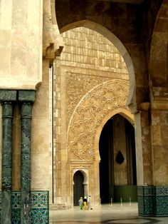 Beautiful Casablanca - http://www.travelandtransitions.com/destinations/destination-advice/africa/morocco-travel-map-things-todo/♔PM