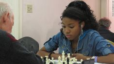 At a small chess tournament in New York this week, 17 Rochelle Ballantyne moved closer to her goal of becoming the first female African-American chess master in history.