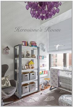 SISSY+MARLEY NYC nursery and children's interior decorating and wallpaper - BLOG HOME - HERMIONE'S ROOM