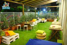 Mastro Festa  - Zona Relax esterna per genitori