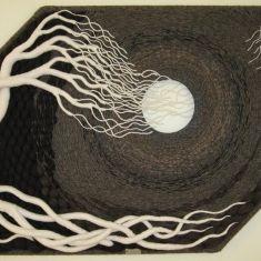 Gloria McRoberts incredible fiber artwork