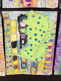 Apex Elementary Art: ahhhh!!!! eeekkkkk!!!!