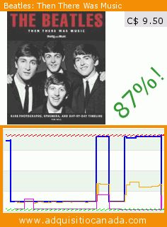 Beatles: Then There Was Music (Hardcover). Drop 87%! Current price C$ 9.50, the previous price was C$ 74.31. https://www.adquisitiocanada.com/trans-atlantic/beatles-then-there-was