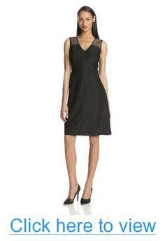 Anne Klein Women's Emberoidered Island Stretch Dress #Anne #Klein #Womens #Emberoidered #Island #Stretch #Dress