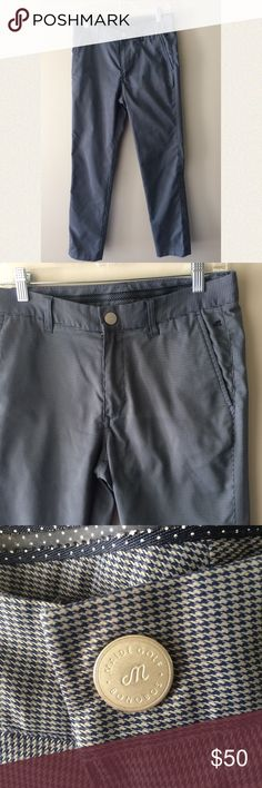 Clothes, Shoes & Accessories Trustful New Mango Man Tailored Slim Fit Dark Grey Trouser 100% Wool Formal Pants 30w 30l