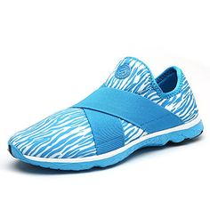 Suokeni Womens Sport Water Sneakers Blue 8 DM US *** You can find more details by visiting the image link.