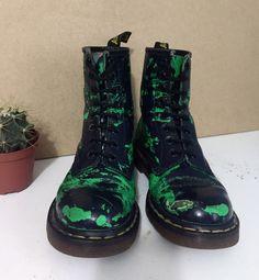Dr Martens 1460 Boots uk5/eu38   eBay Dr. Martens, Dr Martens 1460, Mermaids, Combat Boots, Custom Design, Outfit, Clothes, Ebay, Style