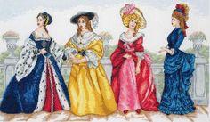 Набор для вышивания Anchor PCE956 Прогулка по истории