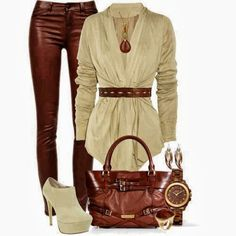 Brown pent Color Combinations in Women's Apparel | Fashion World