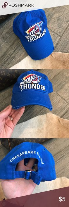 Oklahoma City Thunder OKC Thunder hat adjustable OKC Thunder hat Accessories Hats