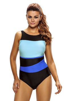 7bdf97fe470 Chic Color Block Accent Hollow-out One Piece Swimsuit Swimsuits 2017, Women's  One Piece