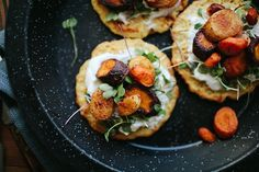 Chickpea Pancakes with Smoky Roasted Carrots // The Year in Food by continental drift, via Flickr
