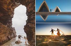 Una colección de cincuenta fotografías de bodas en destinos alucinantes que te dejarán sin aliento.