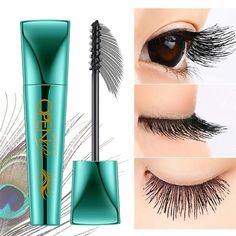 e88ffcf7d55 US$9,12 - Black Mascara Makeup Eyelash Extension Volume Lengthening Eye  Curling Black Waterproof