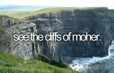 Visiting Ireland bucket list inspiration.