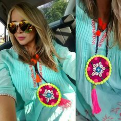 COLLAR WAYUU necklace COLLAR EN TEJIDO WAYUU ♡collar con tejido wayuu recamado…