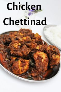 Chettinad Chicken recipe with step by step recipe with video procedure. Chettinad Chicken is a spicy chicken recipe made with short red chilli and kalpasi. Chicken Recipes Dry, Recipes With Chicken And Peppers, Indian Chicken Recipes, Chicken Stuffed Peppers, Indian Food Recipes, Pepper Chicken, Kerala Recipes, Chettinad Chicken, Chicken Masala